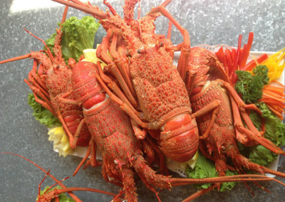 Toby's Seafood crayfish