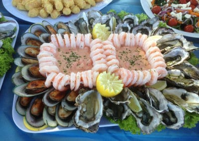 Toby's Seafood platter